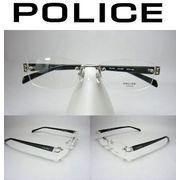 ポリスツーポイントVPL176J【シルバー/グレイc-0579】54mmおしゃれフレーム薄型レンズ使用